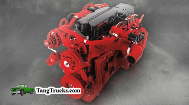2015 Ford F-750 engine