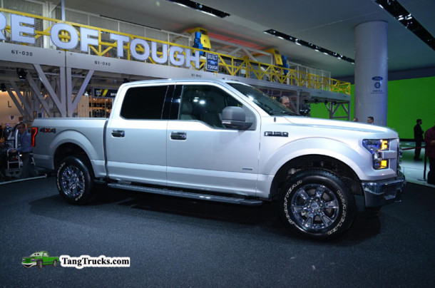 2015 Ford F150 side