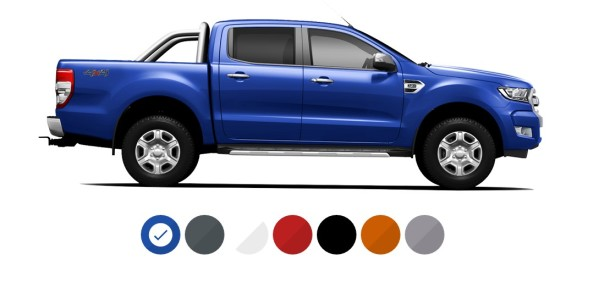 2015 Ford Ranger side view