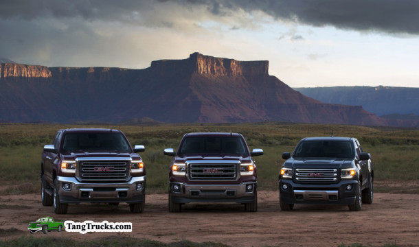 GMC Three Truck Portfolio - 2015 GMC Canyon All Terrain SLE Exte