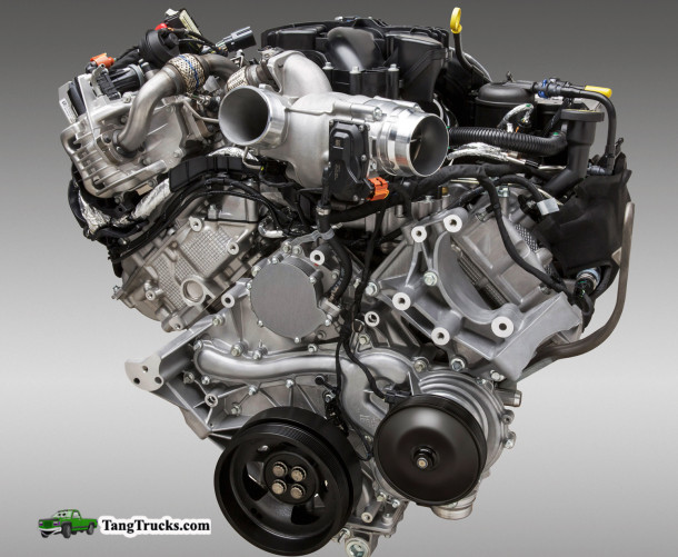 2015 GMC Denali 3500HD engine