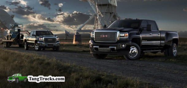 2015 GMC Denali 3500HD models