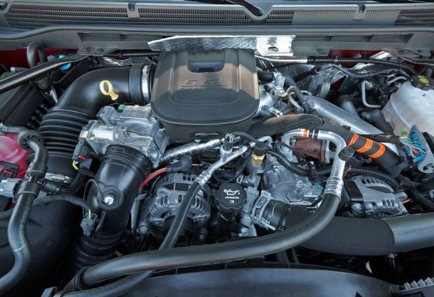 2015 GMC Sierra engine