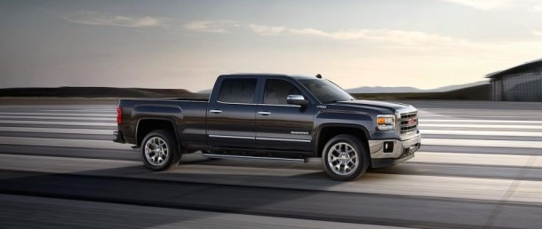 2015 GMC Sierra side view