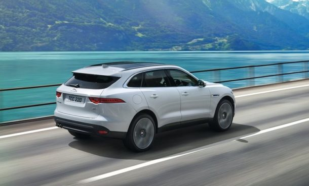 2015 Jaguar F-Pace rear