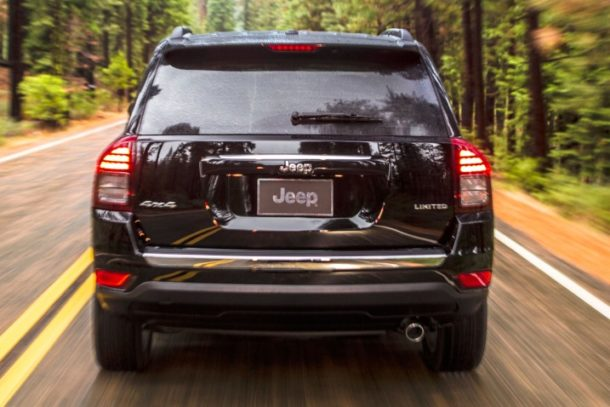 2015 Jeep Compass back