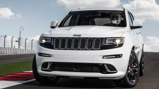 2015 Jeep Grand Cherokee Trackhawk Front