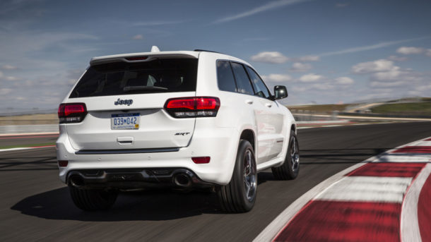 2015 Jeep Grand Cherokee Trackhawk Rear view
