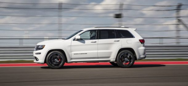 2015 Jeep Grand Cherokee Trackhawk side view