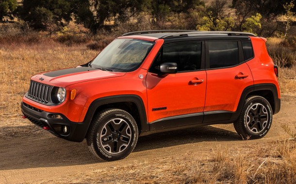2015 Jeep Renegade side view