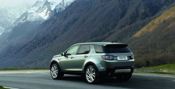 2015 Land Rover Discovery Sport rear angle