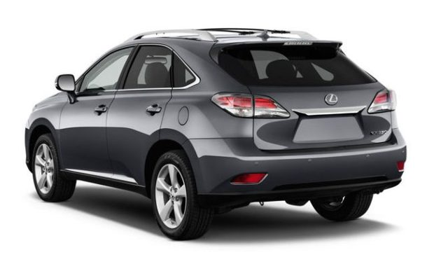 2015 Lexus RX rear view