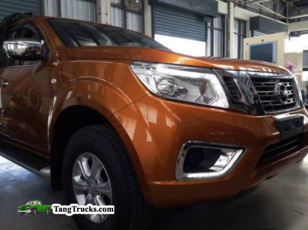 2015 Nissan Frontier front