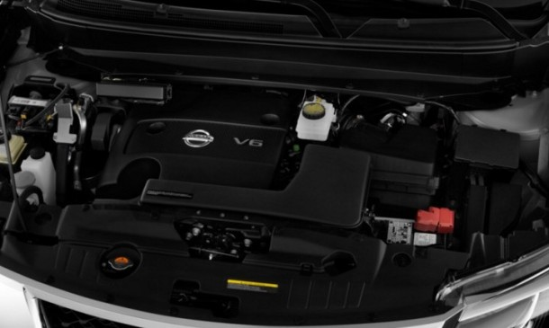 2015 Nissan Pathfinder engine