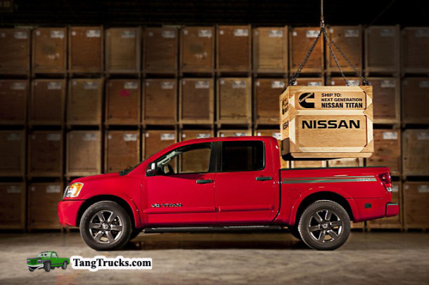 2015 Nissan Titan side