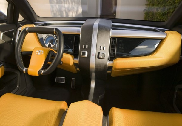 Toyota A-Bat Concept interior front view