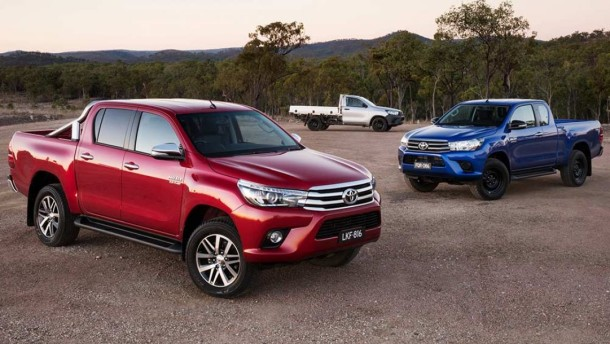2015 Toyota Hilux colors