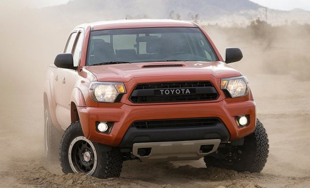 2015 Toyota Tacoma Diesel front