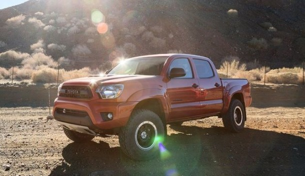 2015 Toyota Tacoma Diesel front view