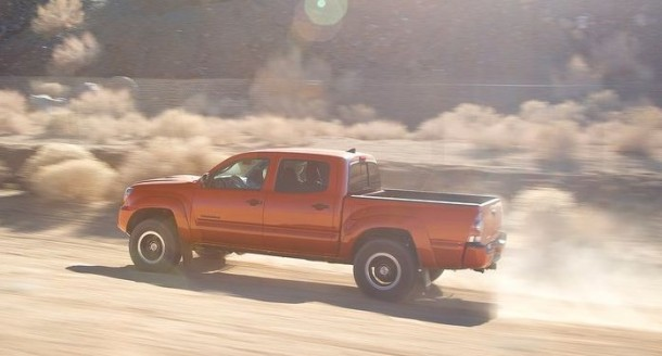 2015 Toyota Tacoma Diesel side