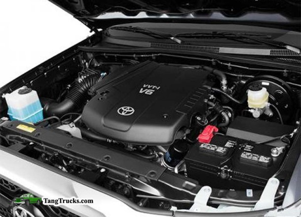 2015 Toyota Tacoma engine