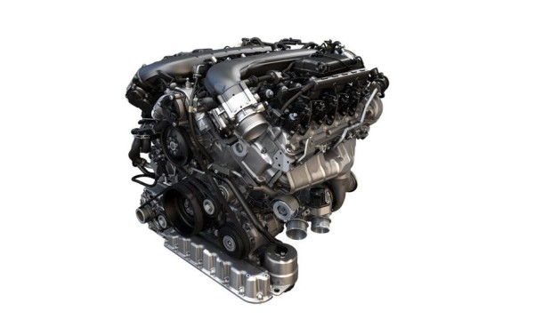 2016 Bentley Bentayga engine