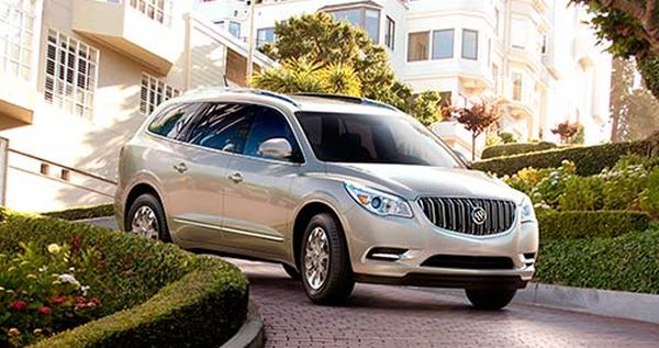2016 Buick Enclave front side