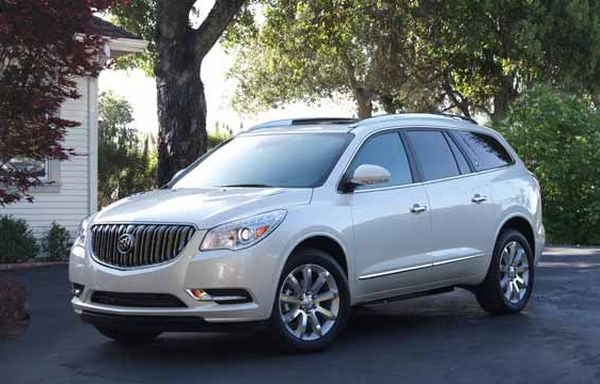 2016 Buick Enclave front view