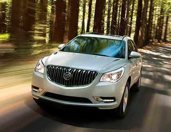 2016 Buick Enclave front