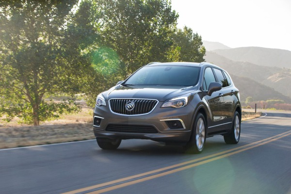 2016 Buick Envision front view
