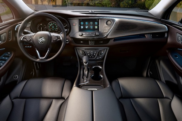 2016 Buick Envision interior front