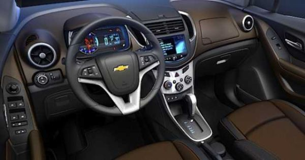 2016 Chevrolet Captiva interior
