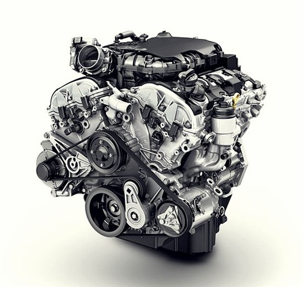 2016 Chevrolet Colorado ZR2 engine