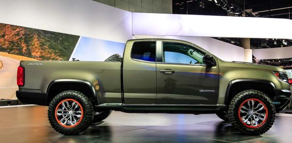 2016 Chevrolet Colorado Zr2 Side