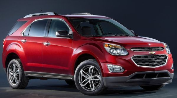 2016 Chevrolet Equinox front side