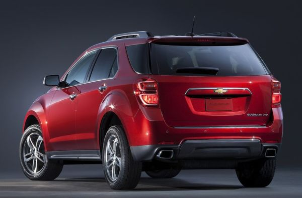 2016 Chevrolet Equinox rear