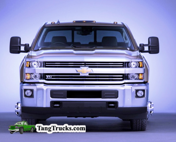2015 Chevrolet Silverado 3500 HD LTZ crew cab pickup with dual r