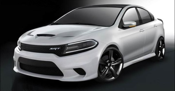 2016 Dodge Dart SRT front side