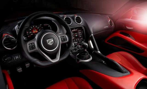 2016 Dodge Dart SRT interior