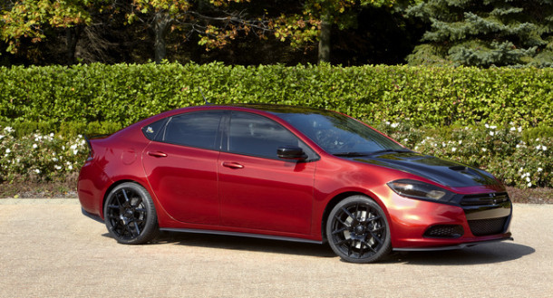 2016 Dodge Dart SRT side view