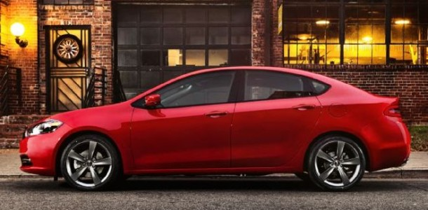 2016 Dodge Dart SRT4 exterior side view