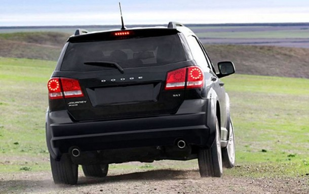 2016 Dodge Journey back view