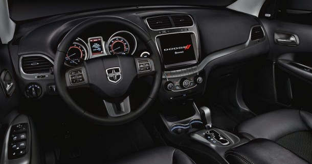 2016 Dodge Journey interior front