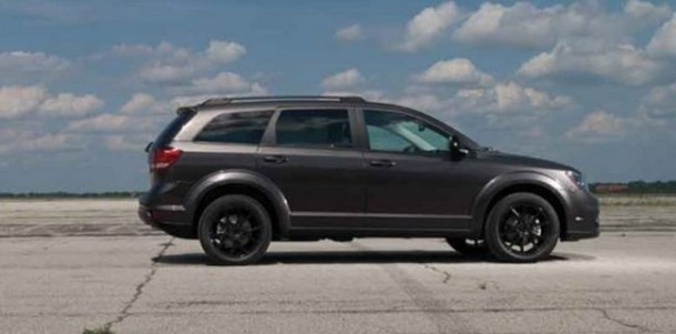 2016 Dodge Journey side