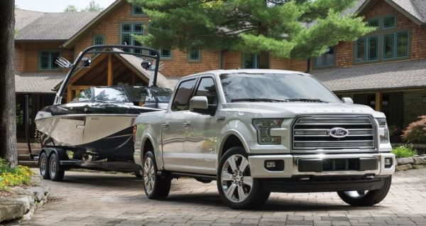 2016 Ford F-150 Limited towing