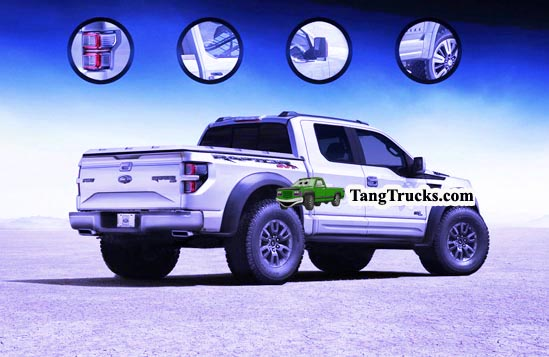 2016 Ford F-150 SVT Raptor back