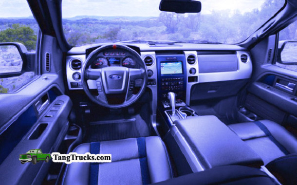 2016 Ford F-150 SVT Raptor interior