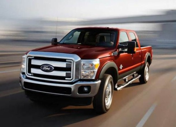 2016 Ford F-250 front