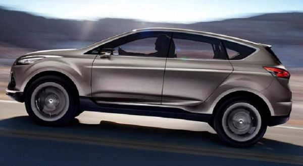 2016 Ford Kuga side view