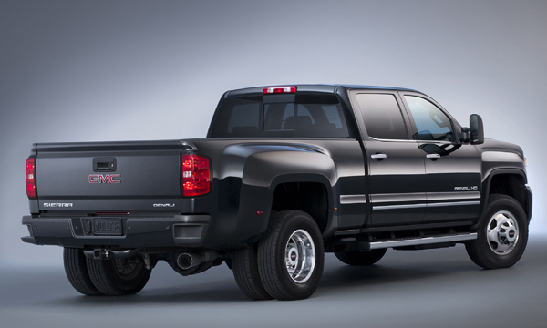 2016 GMC Denali 3500HD back